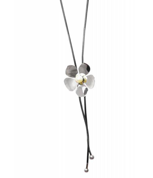 Adley Silver Necklace