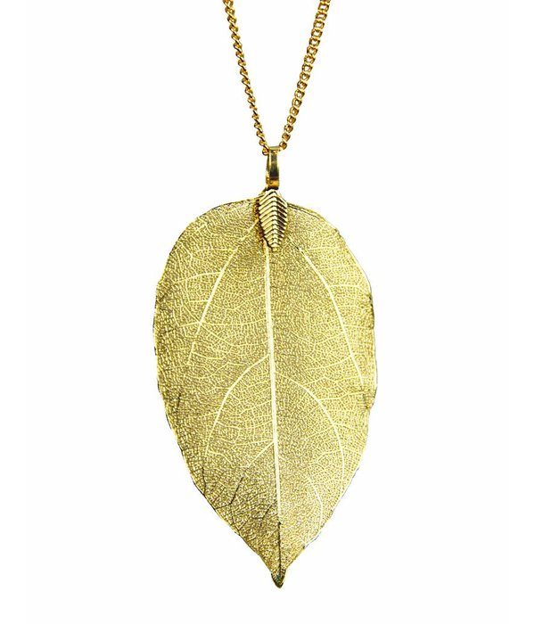 Denise Leaf Necklace