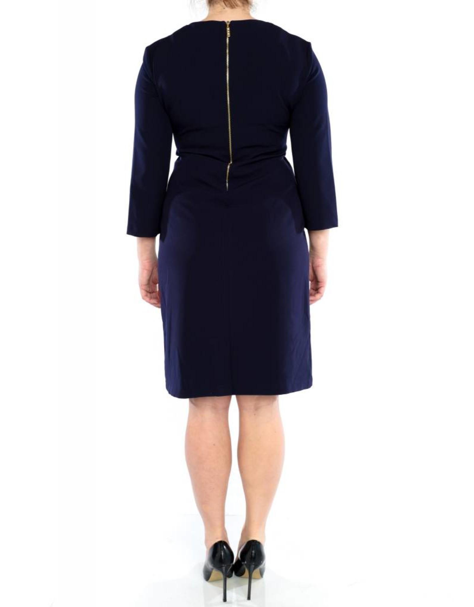 Cali Dress Navy Blue