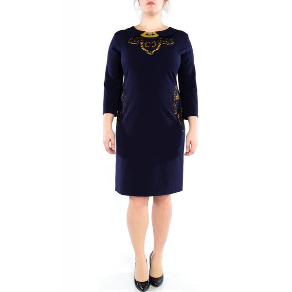 Cali Dress Navy Blue
