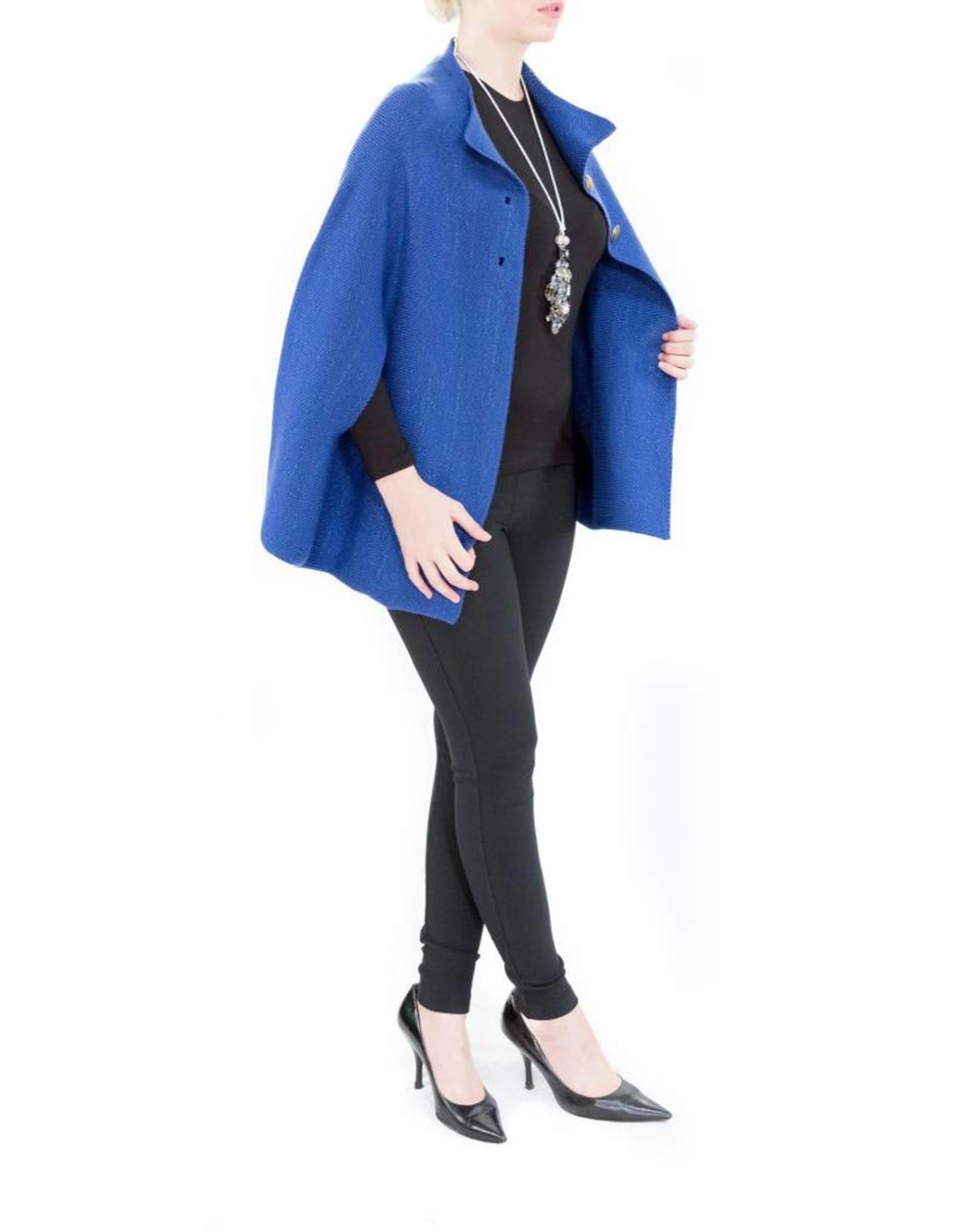 Carmen Poncho Blue