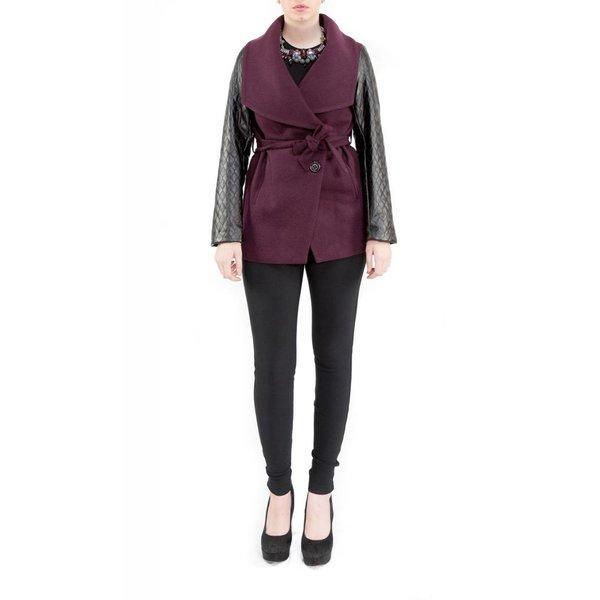 Dina Jacket Burgundy