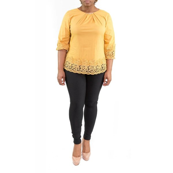 Jillian Blouse Mustard