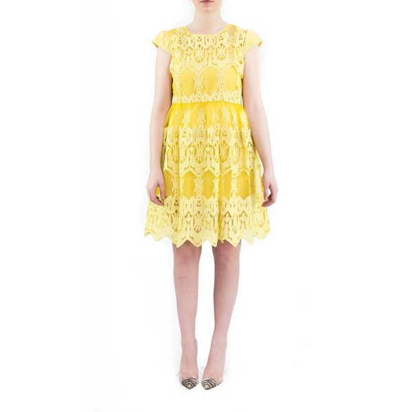 Lana Dress Yellow