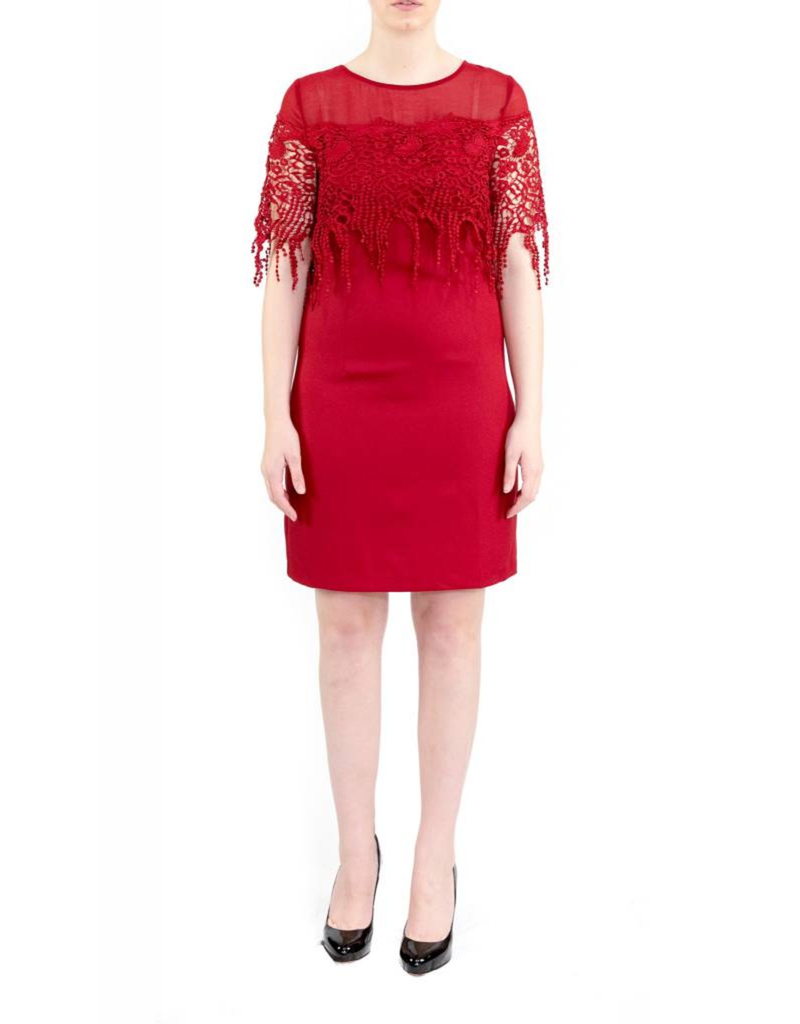 Leighton Dress Red