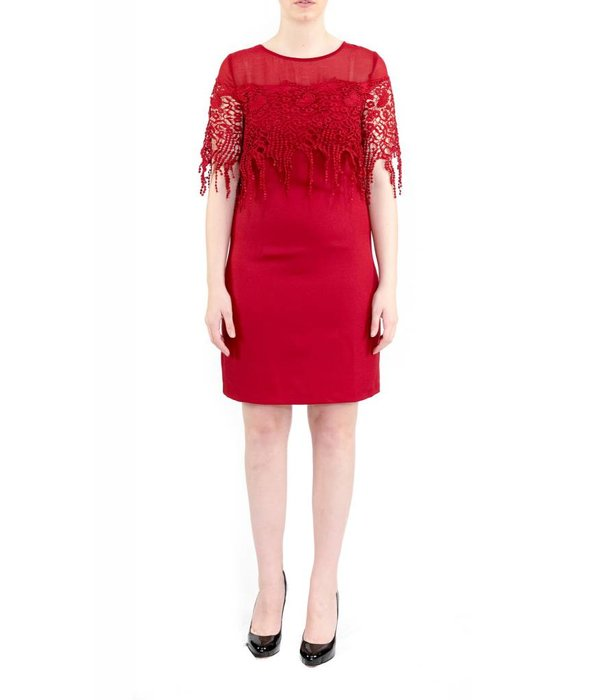 Leighton Dress Red
