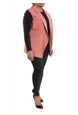 Lucille Vest Dusty Rose