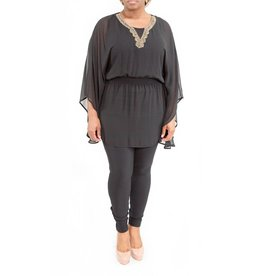 Matilda Tunic Black
