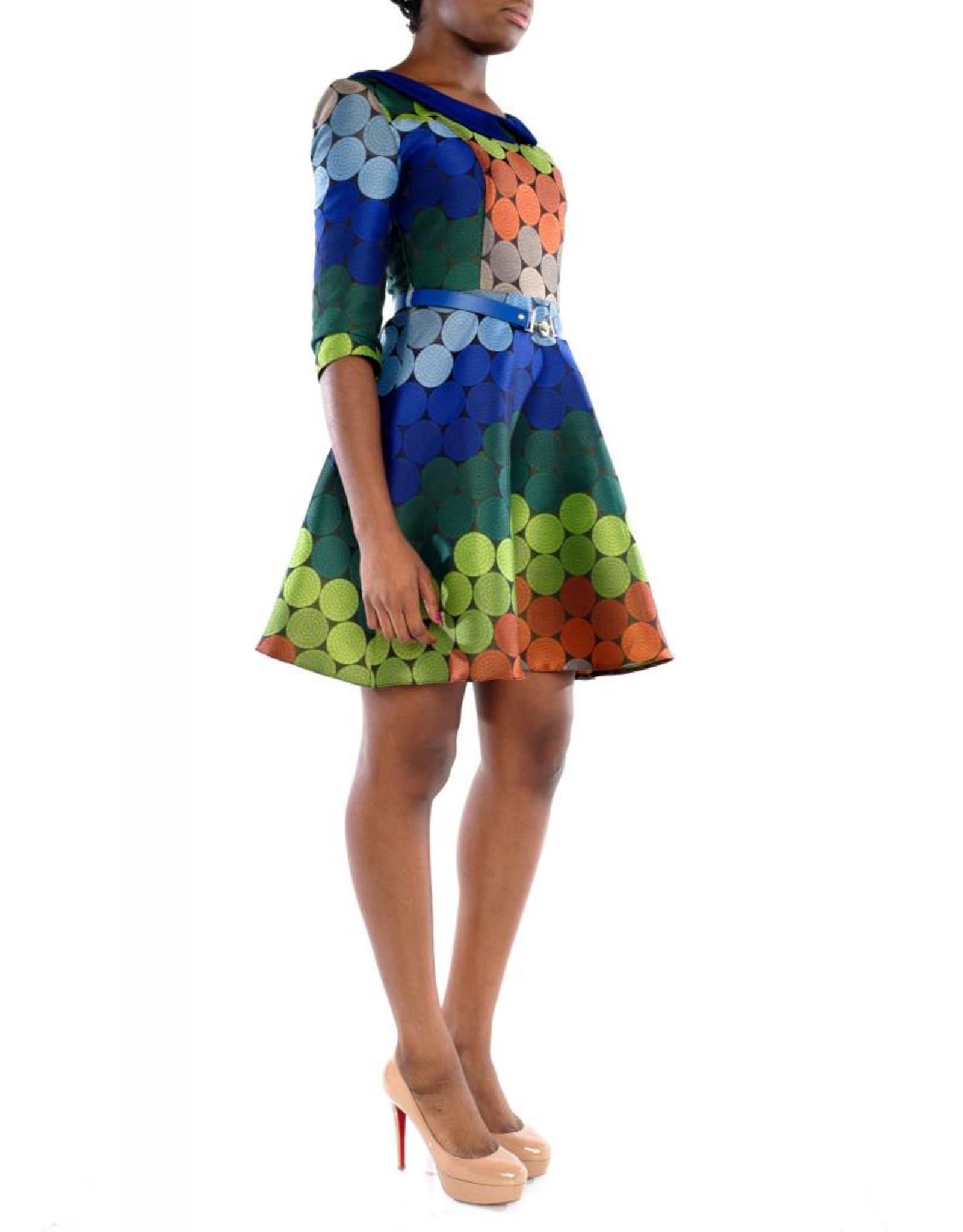 Sage Dress Navy Blue