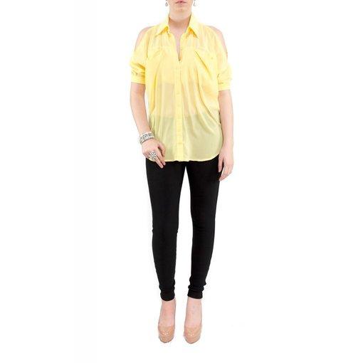 Sadie Blouse Yellow