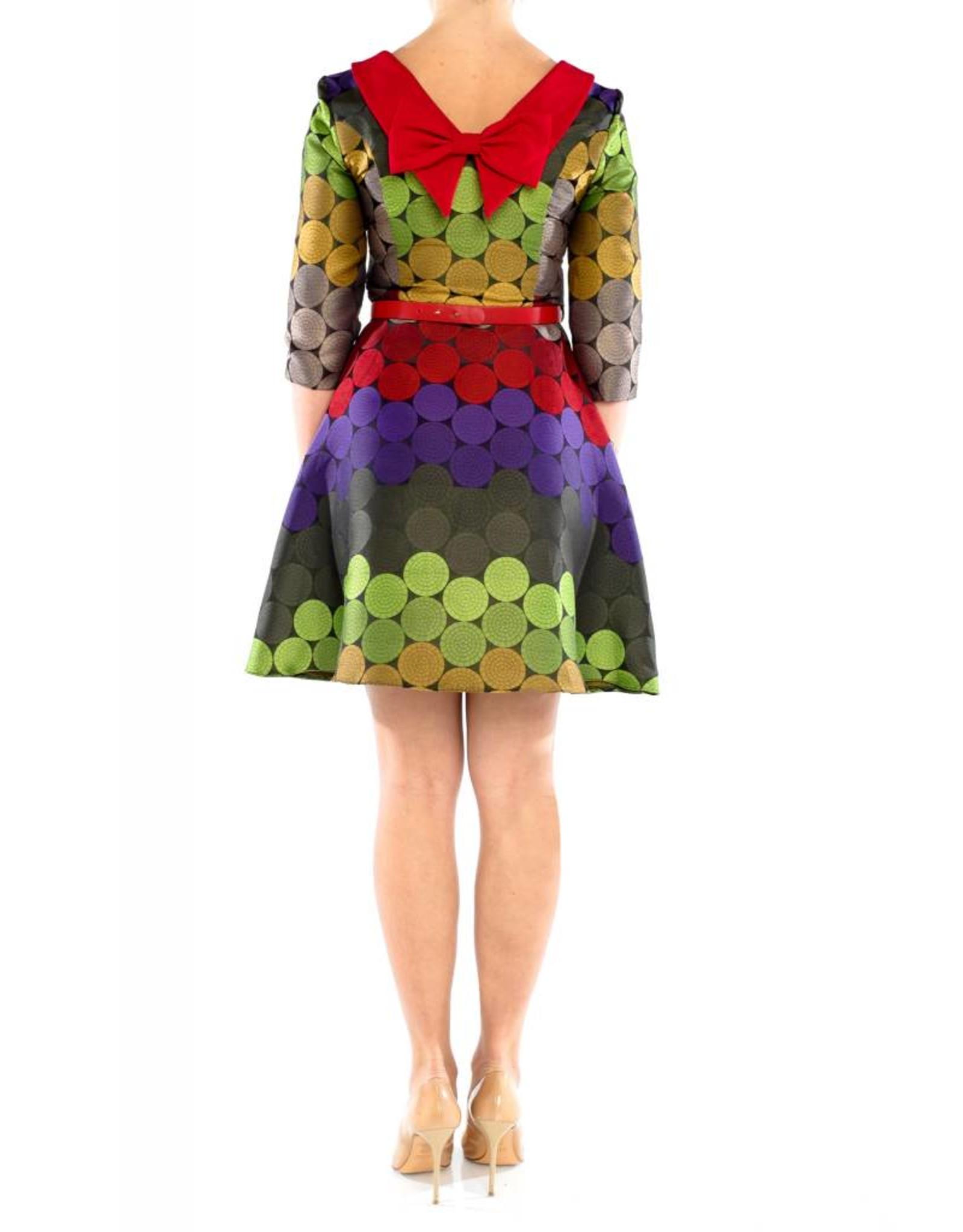 Sage Dress Red