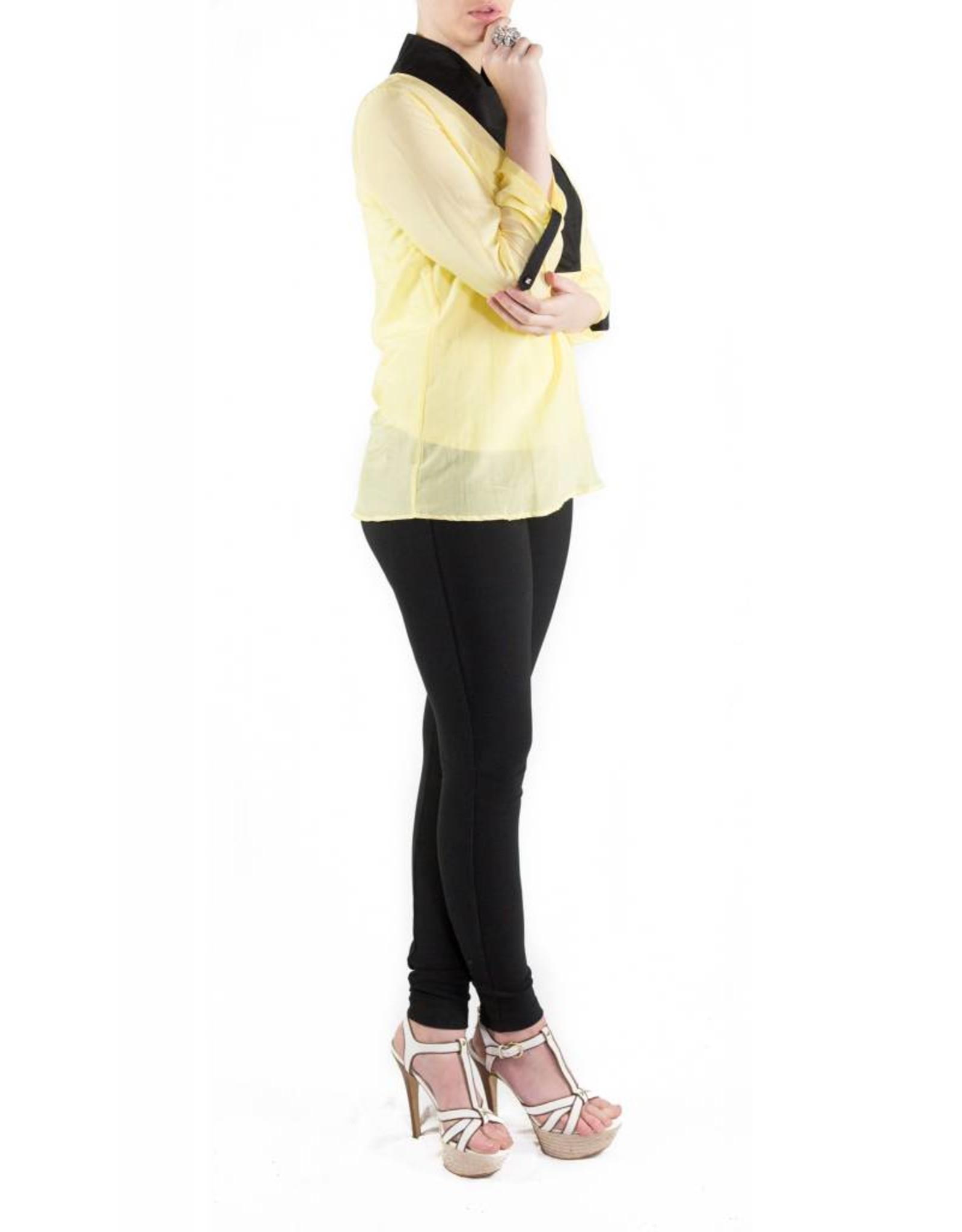 Selene Blouse Yellow