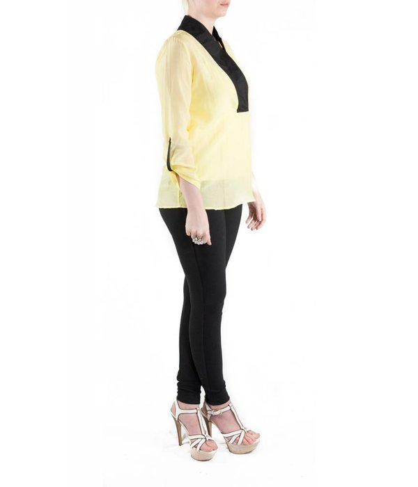 Selene Blouse Yellow