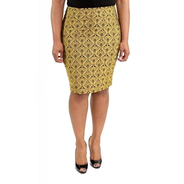 Sienna Skirt Gold