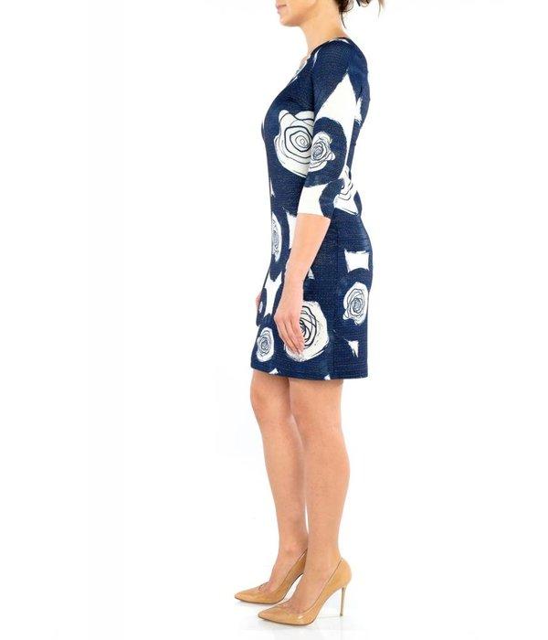 Sloan Dress Navy Blue