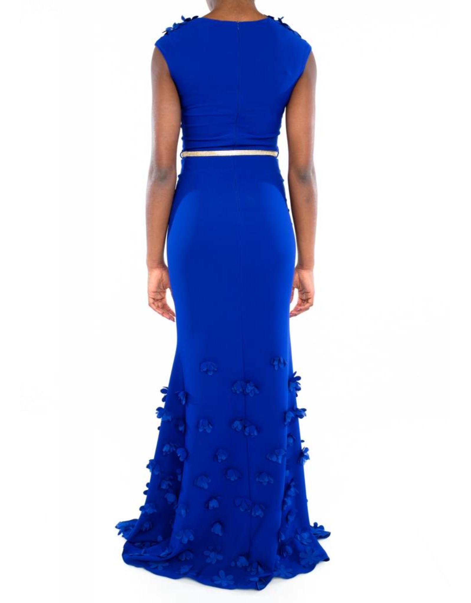 Valeria Dress Blue