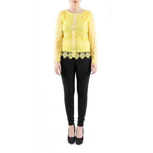Vanessa Blouse Yellow
