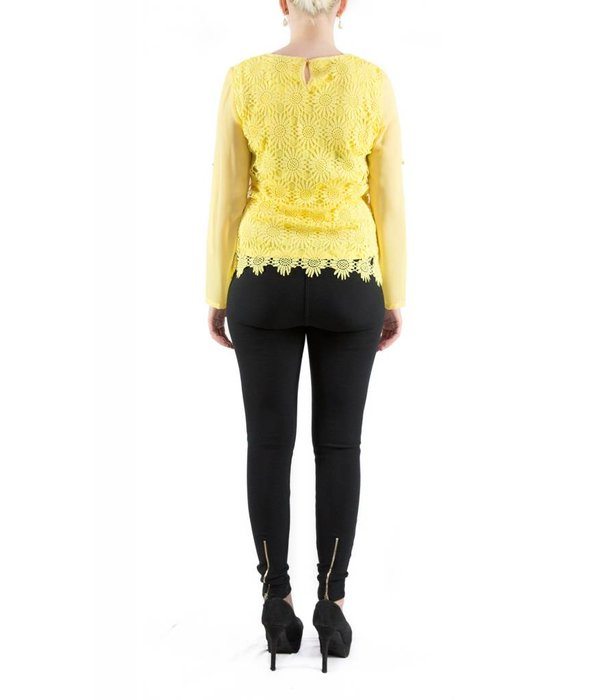 Vanessa Blouse Yellow