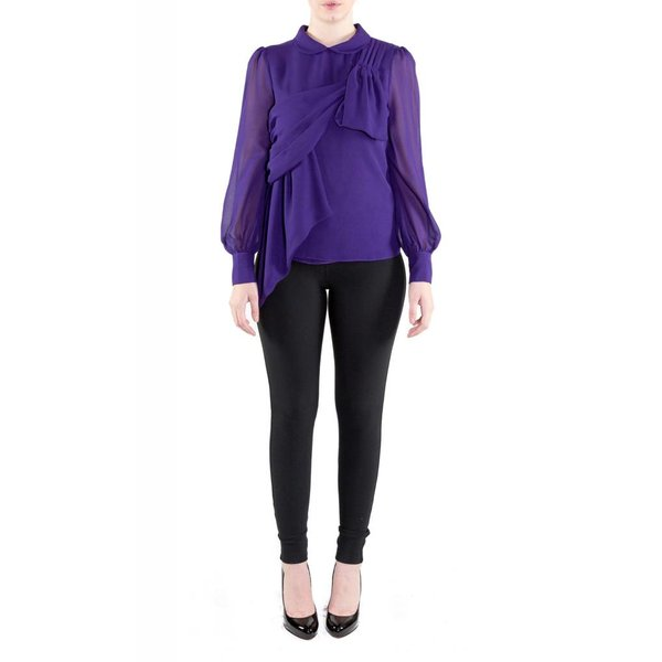 Vivian Blouse Purple