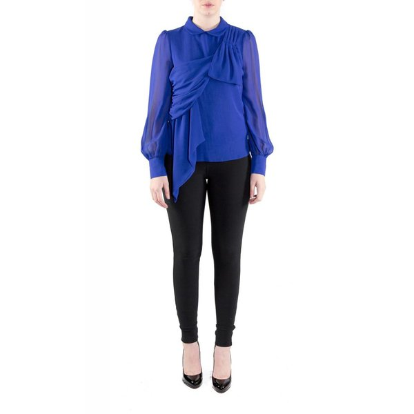 Vivian Blouse Royal Blue