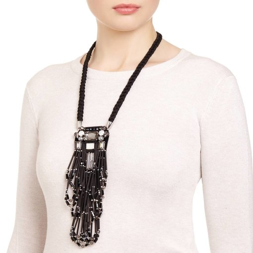 Butterfly High Voltage Long Necklace