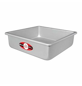 "FAT DADDIO'S SQUARE CAKE PAN SOLID BOTTOM 8"" x 8"" x 3"" PSQ-883"
