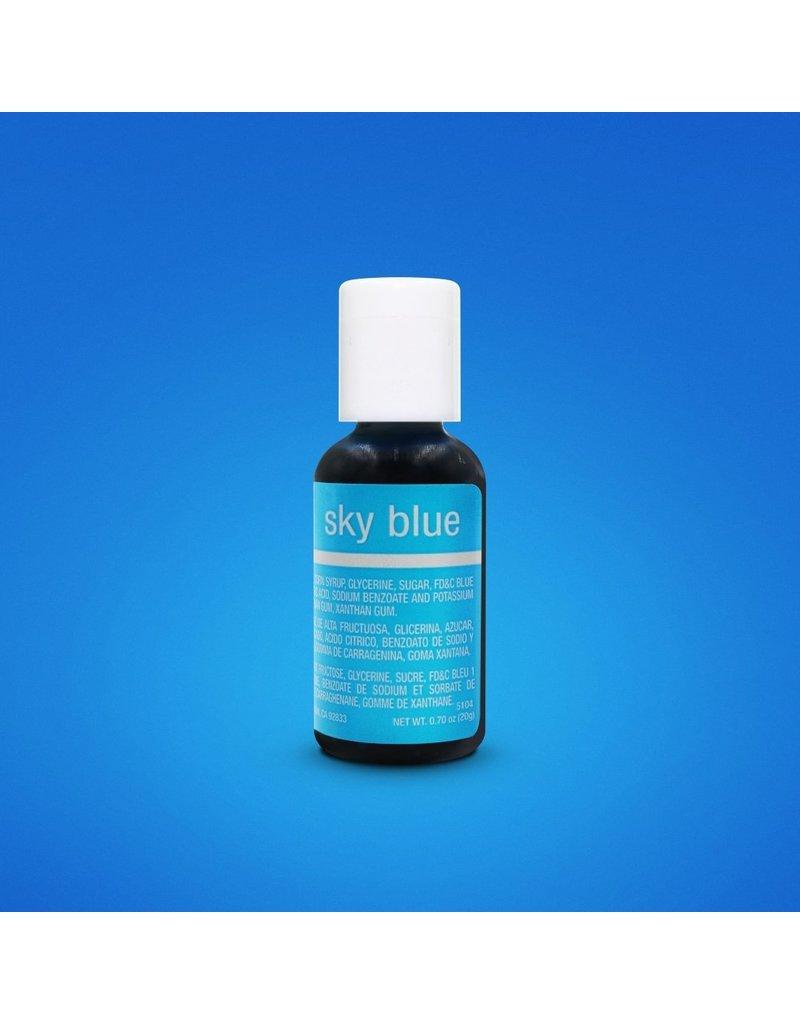 CHEFMASTER CHEFMASTER SKY BLUE 0.70 Oz (5104)