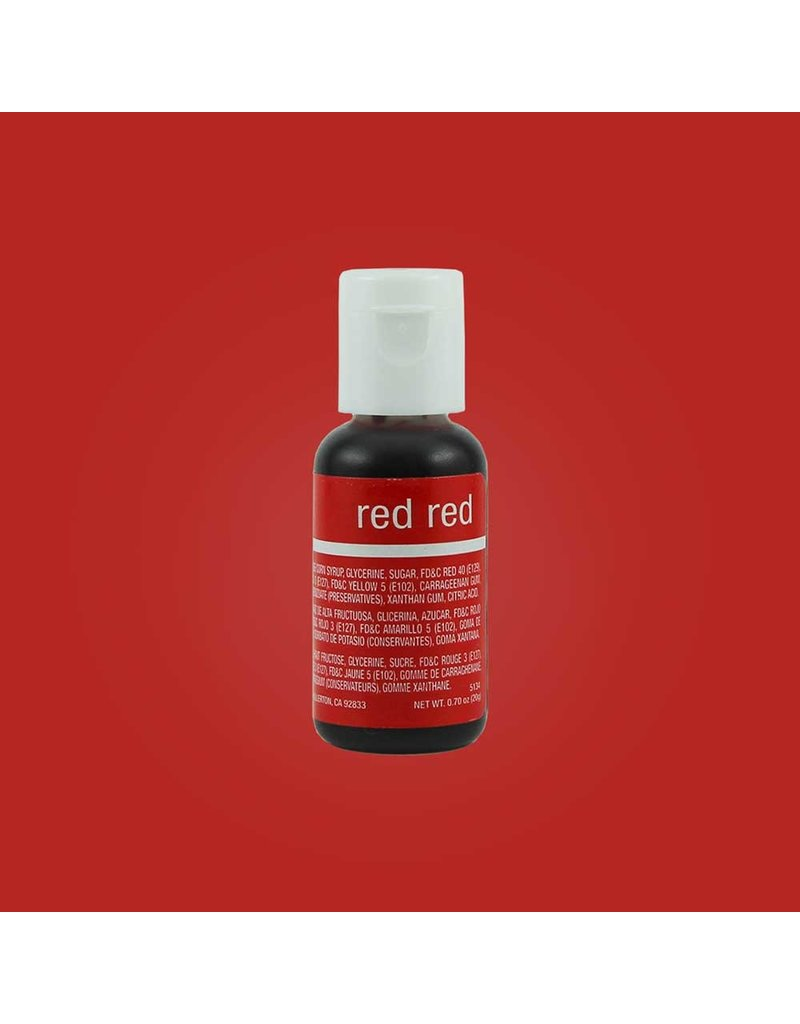 CHEFMASTER CHEFMASTER RED RED .70 oz (5134)