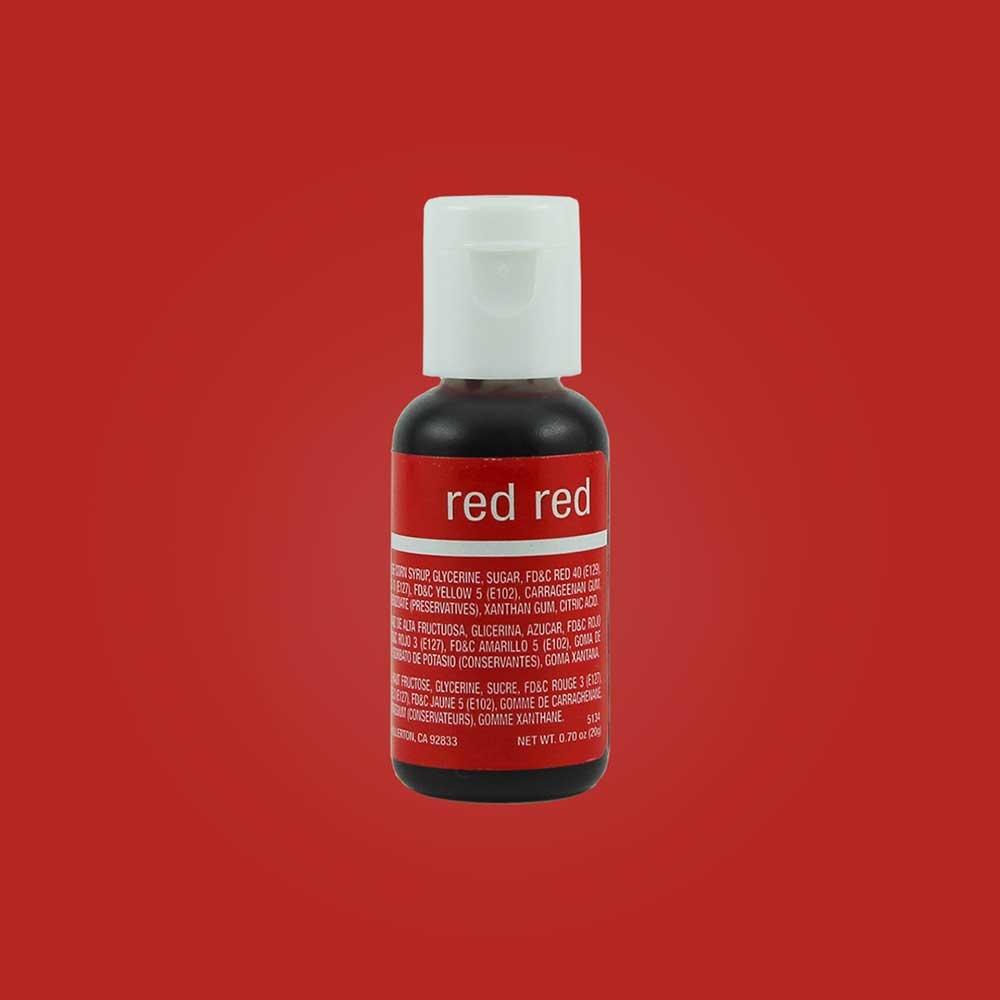 ChefMaster Red Red 0.70 Oz - eCakeSupply