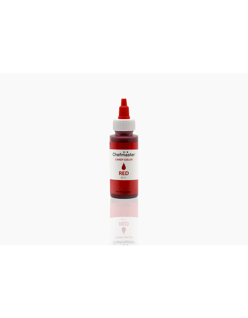 LIQUID CANDY COLOR RED 2 OZ - 4211