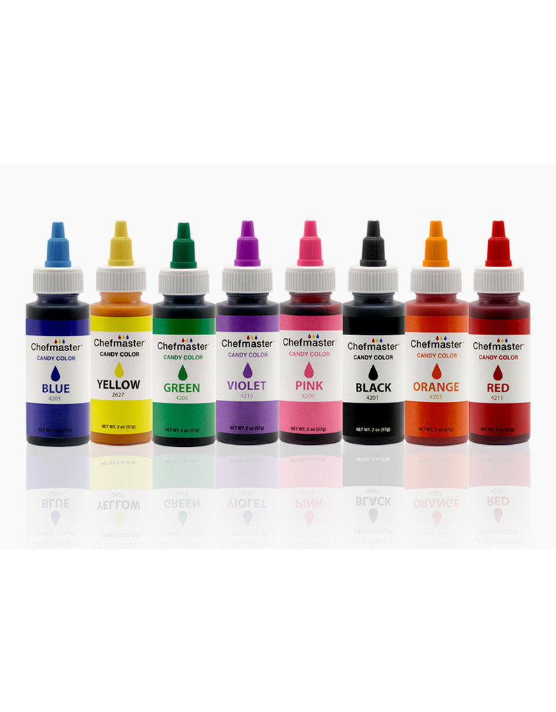 LIQUID OIL CANDY COLOR RED 2 OZ - 4211