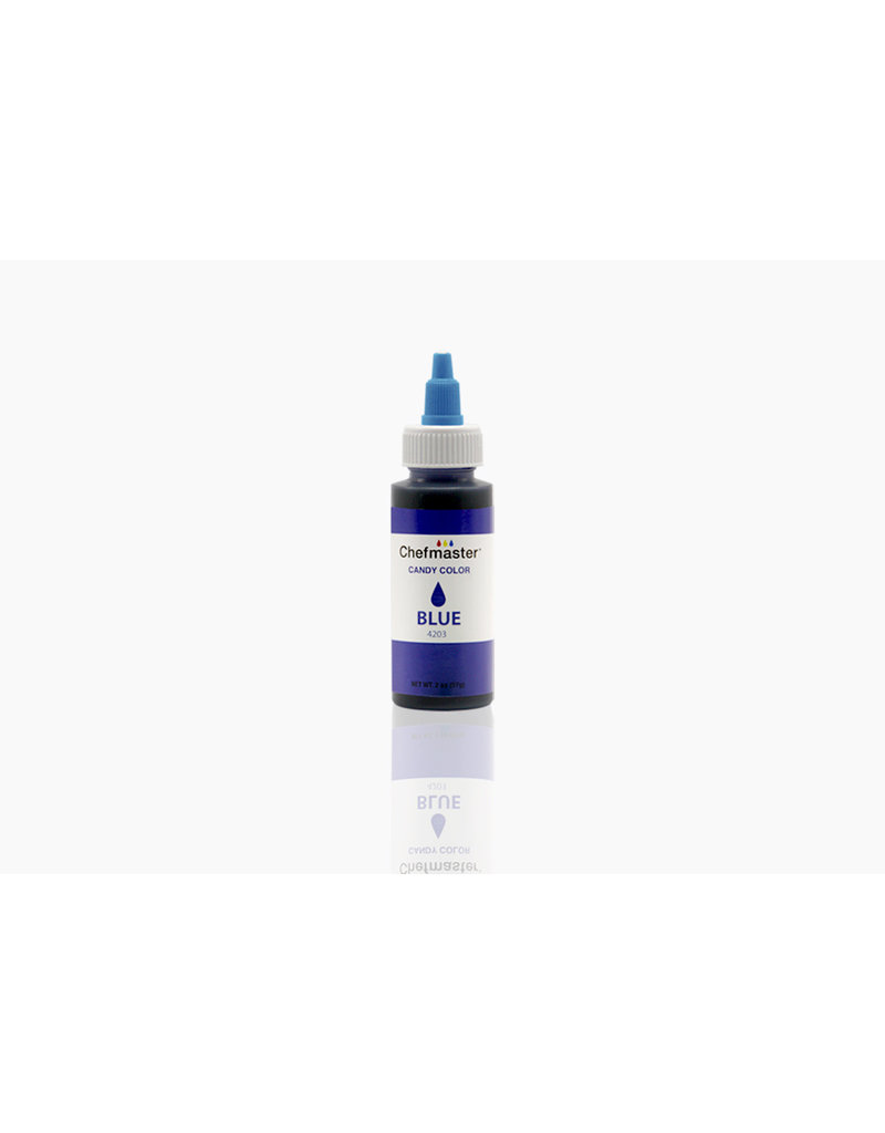 LIQUID OIL CANDY COLOR BLUE 2 OZ - 4203