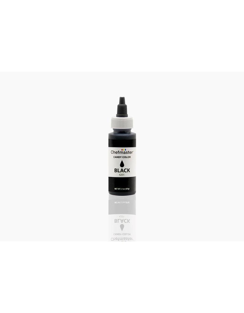 LIQUID OIL CANDY COLOR BLACK 2 OZ - 4201