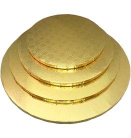 """Gold Round Drum B/C-Flute 16"""" WPDRM16G"""