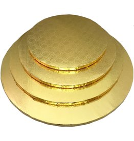 """Gold Round Drum B/C-Flute 10"""" WPDRM10G"""