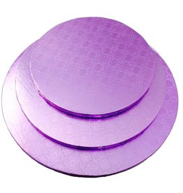 """Lilac Round Drum B/C-Flute 10"""" WPDRM10L"""