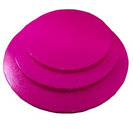 "Round Cake Drum Hot Pink 14"" (DR14HP)"