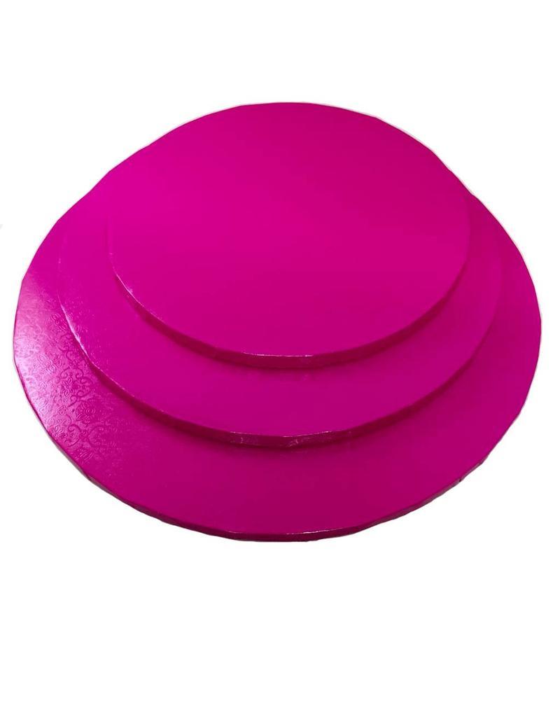 "Round Cake Drum Hot Pink 12"" (DR12HP)"