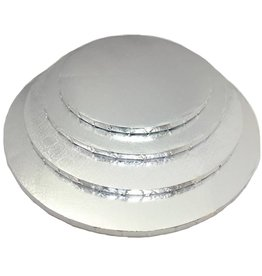 "Round Cake Drum Silver 14"" (DR14S)"