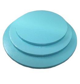"Tahiti Blue Round Drum B/C-Flute 10"" WPDRM10TB"