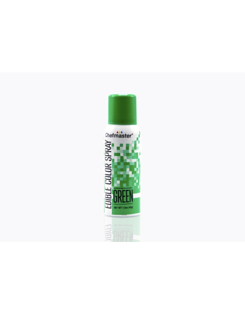 CHEFMASTER CHEFMASTER GREEN EDIBLE SPRAY 3617