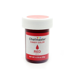CHEFMASTER CANDY COLOR RED 0.70 OZ
