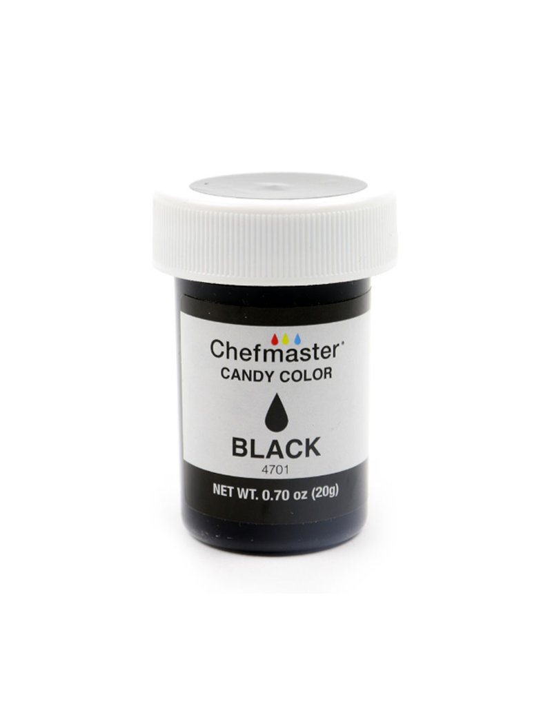 CHEFMASTER CANDY COLOR BLACK 0.70 OZ