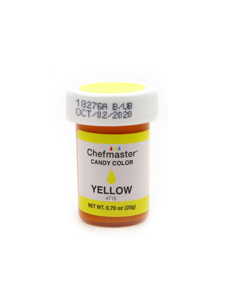 CHEFMASTER CANDY COLOR YELLOW 0.70 OZ