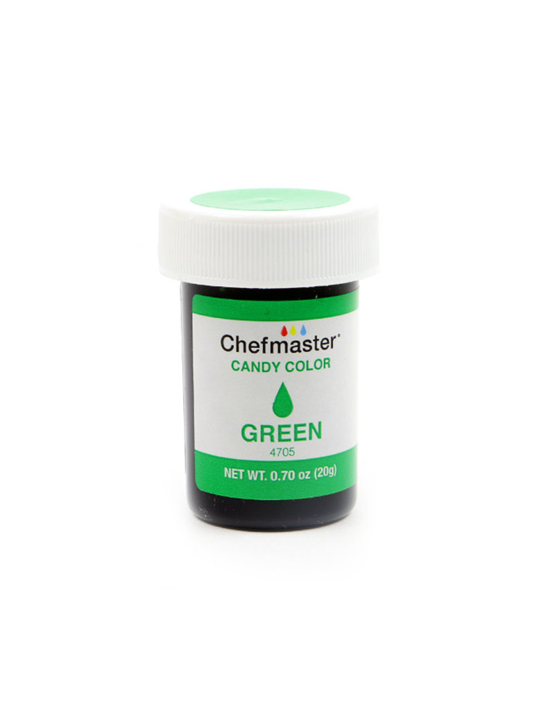CHEFMASTER CANDY COLOR GREEN 0.70 OZ