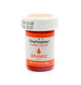 CHEFMASTER CANDY COLOR ORANGE 0.70 OZ