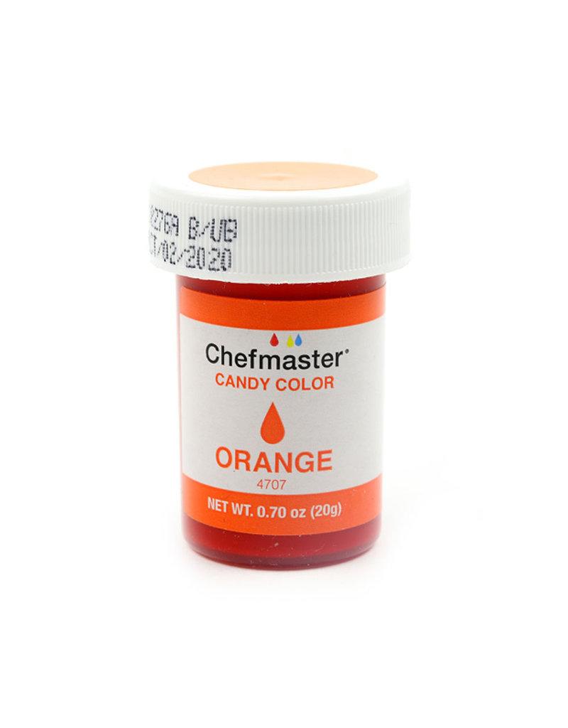CHEFMASTER CANDY COLOR ORANGE 0.70 OZ