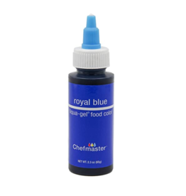 CHEFMASTER LIQUA GEL ROYAL BLUE 2.3 OZ (5011)