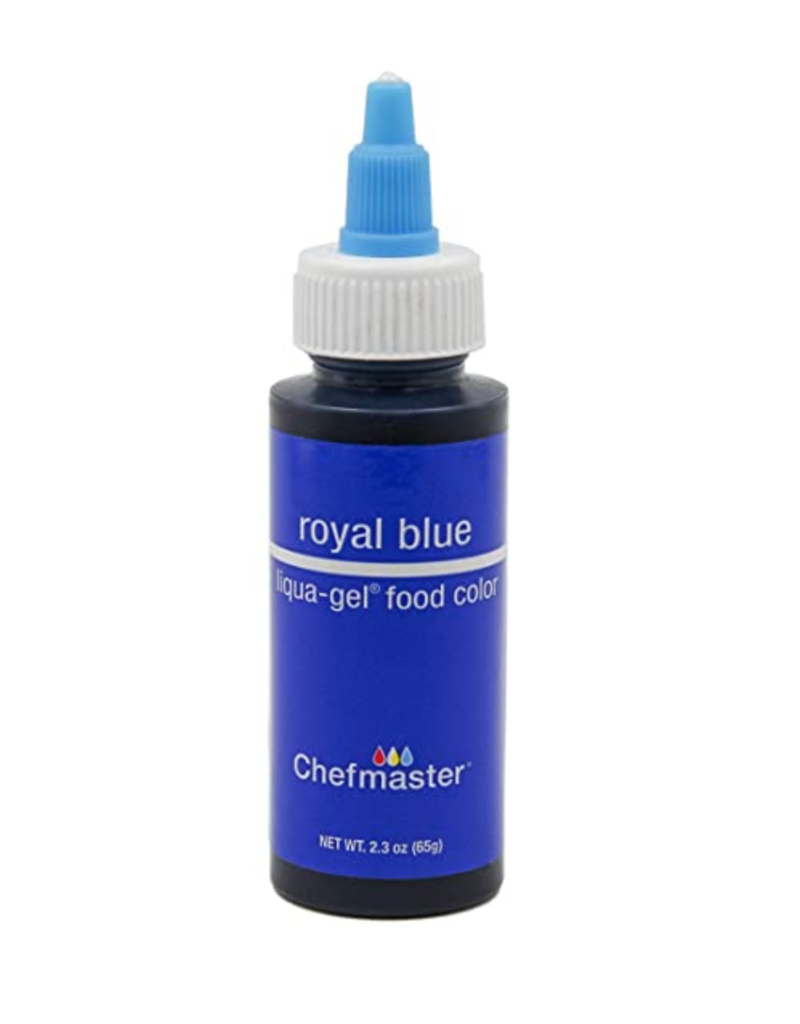 CHEFMASTER LIQUA GEL ROYAL BLUE 2.3 OZ (5011)