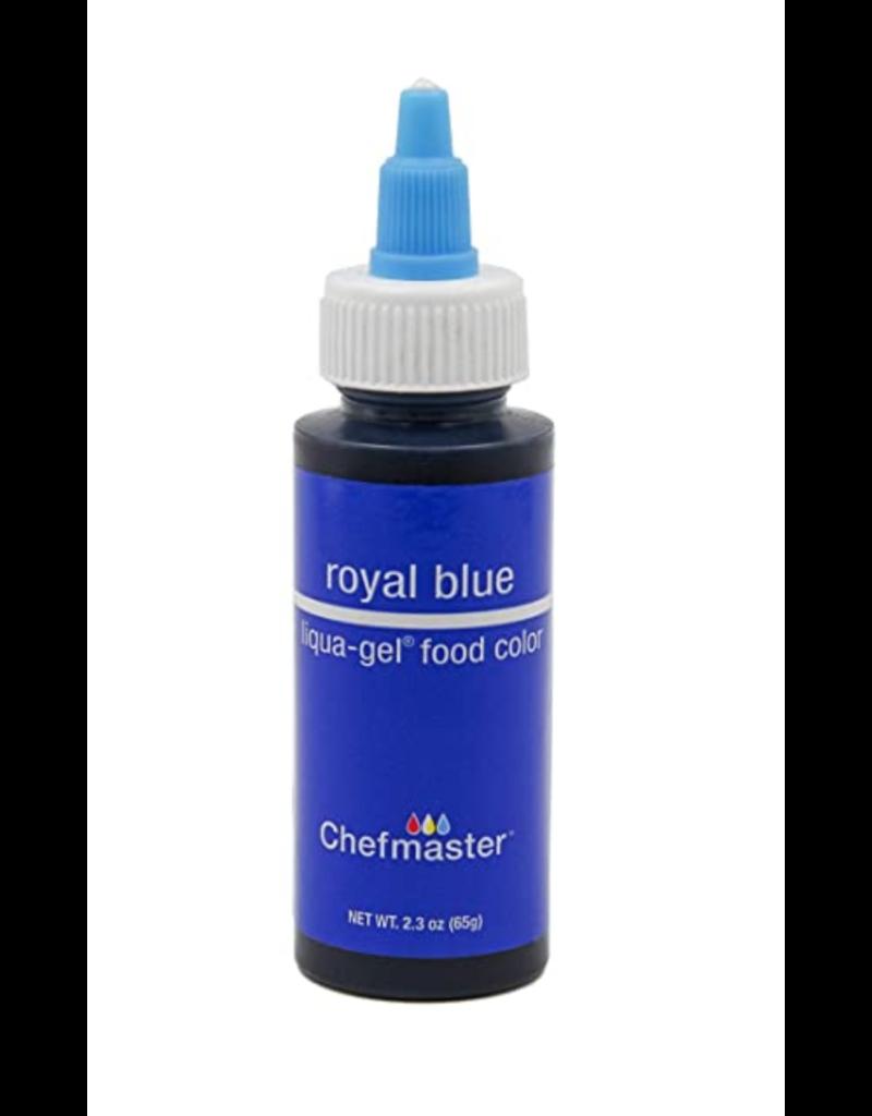 CHEFMASTER LIQUA GEL ROYAL BLUE 2.3 OZ
